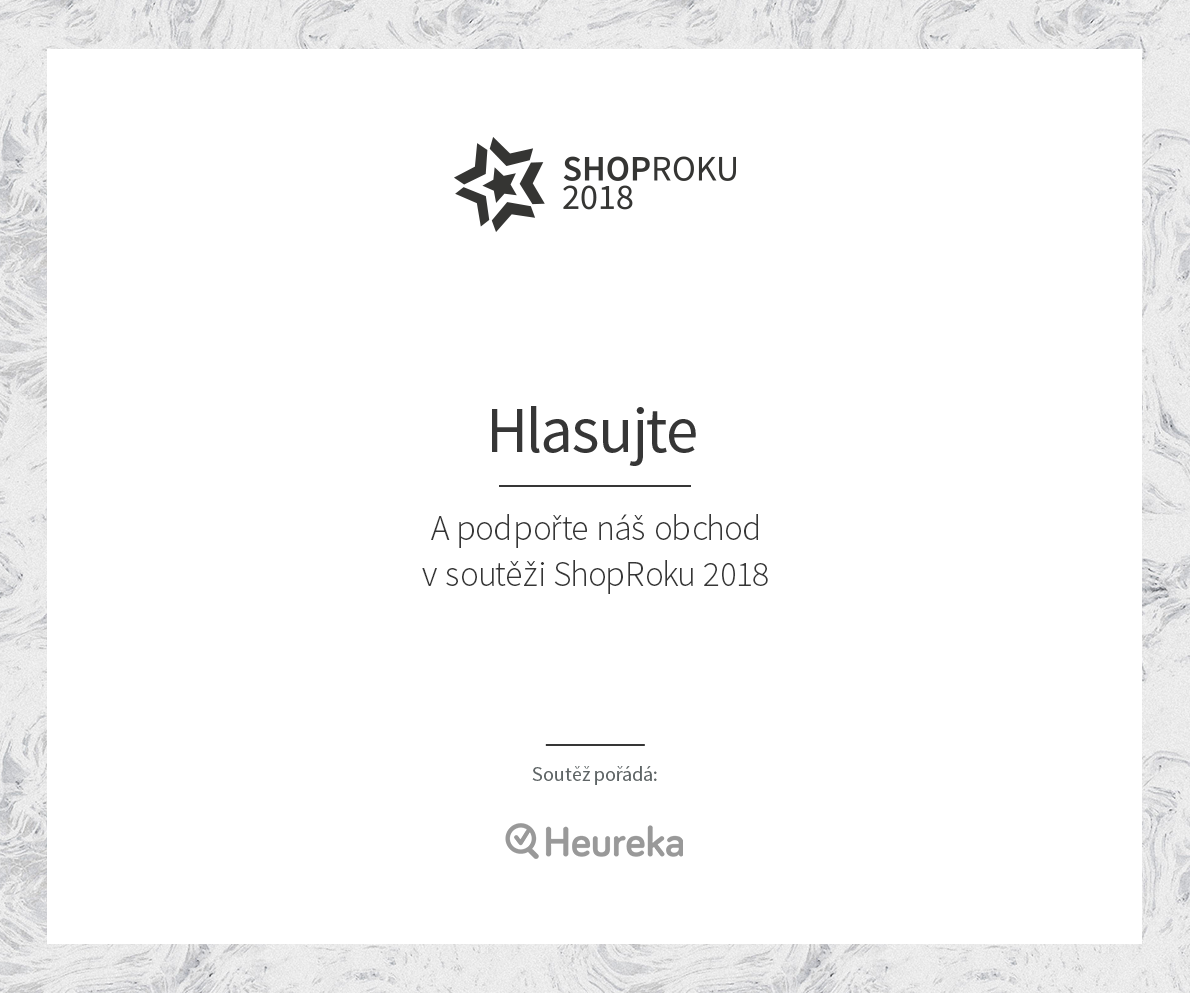 Účastníme se soutěže ShopRoku 2018. Podpoříte nás  - Pro-nožky.cz ... c1f0df9be7c