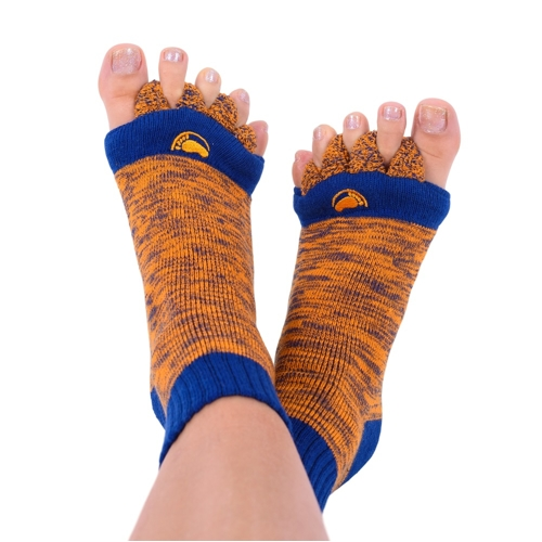 Foot Alignment Socks ORANGE/BLUE
