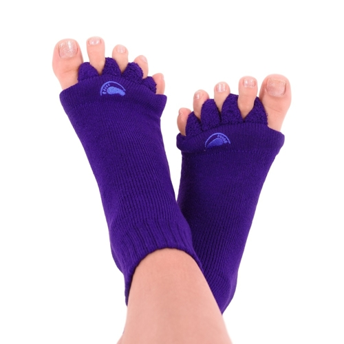 HAPPY FEET HF11L Adjustačné ponožky PURPLE vel.L (vel.43+)